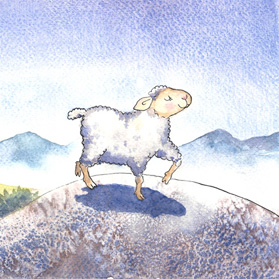 The Missing Sheep / Het verdwaalde schaap