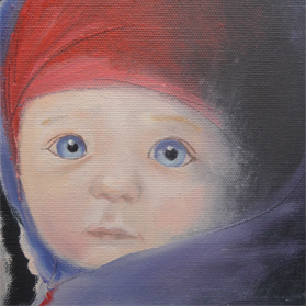 Boy with hat / Baby met mutsje