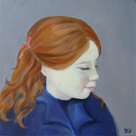 Portrait Ginger Girl / Roodharig meisje